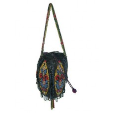 Vintage Beaded Evening Bag - 1920's