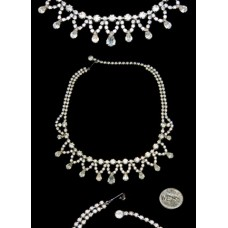 Weiss Crystal Rhinestone Necklace