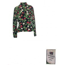 Vintage Ungaro Floral Long Sleeve Blouse