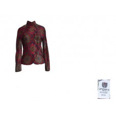 Vintage Ungaro Printed Lined Jacket Italy - Size 4