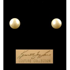 Kenneth Jay Lane Couture Collection Pearl Earrings