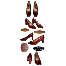 Stuart Weitzman Cana Carmen Molorrus Patent Shoes